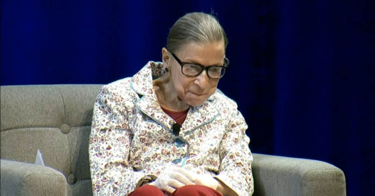 "BREAKING: Ruth Bader Ginsburg Underwent 3 Weeks Radiation For ""Malignant"" Tumor Discovered on Her Pancreas"