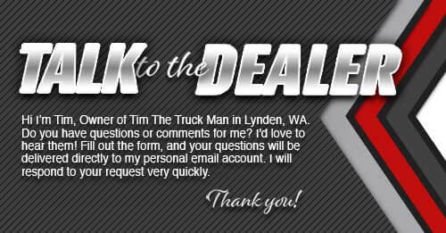 Talk to the Dealer | Tim The Truck Man