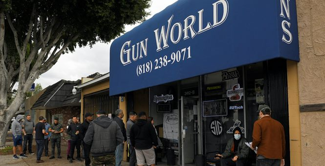 So Just Who Are Buying All These Guns?