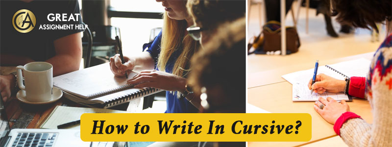 Follow important steps to learn how to write cursive